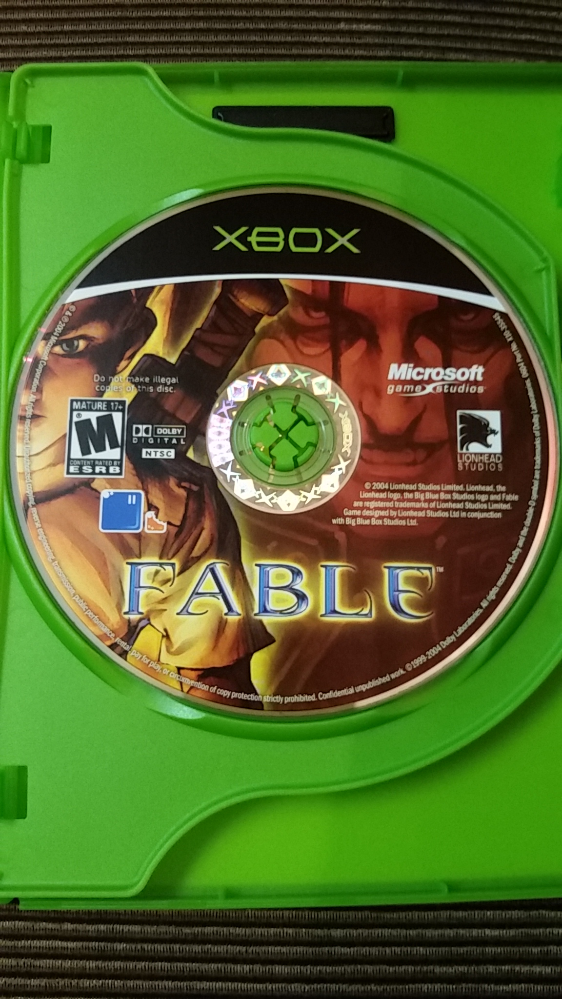 Fable: Limited Edition Bonus DVD Included (Microsoft Xbox