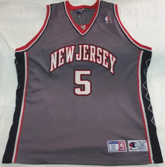 new product bcd7b a6bb2 Jason Kidd New Jersey Nets Champion NBA authentic alternate ...