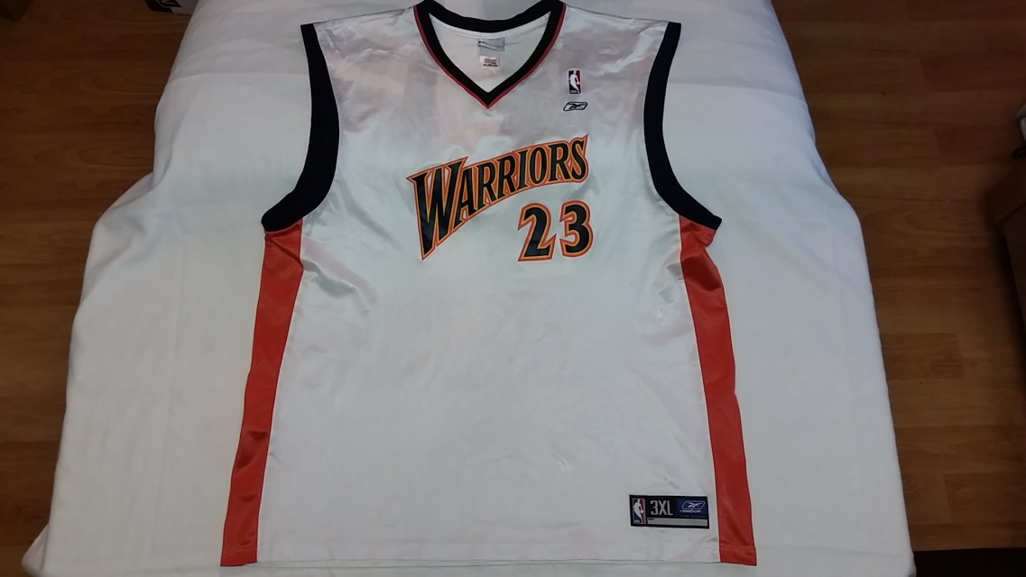 buy popular 81f49 ef6d4 Jason Richardson Golden State Warriors Reebok NBA replica basketball jersey  (Men sz. 3XL)